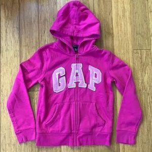 GAP Girls Full Zip Hoodie Sz XL